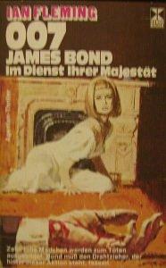 007 James Bond im Dienst Ihrer Majestät,Xenos Verlag Hamburg,1976,160 Seiten.