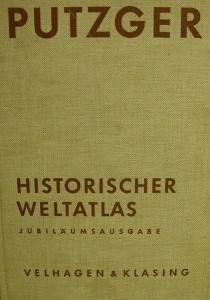 Putzger-Historischer Weltatlas Jubiläumsausgabe 1961 - Handarbeit kaufen