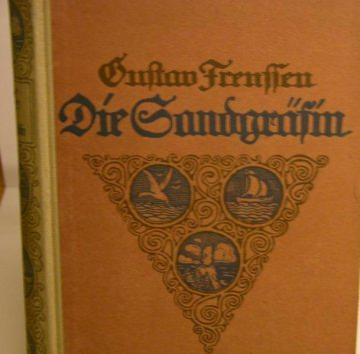 Die Sandgräfin Roman von 1921,Verlagsbuchhandlung Berlin - Handarbeit kaufen