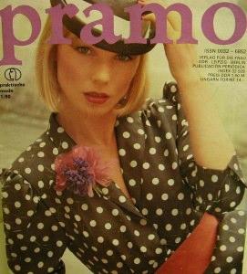 Pramo,Praktische Mode 1/80,Die Mode für Frühjahr und Sommer 1980 mit Schnittmusterbeilage,Verlag für die Frau,25 Seiten,Lager- und Gebrauchsspuren. - Handarbeit kaufen