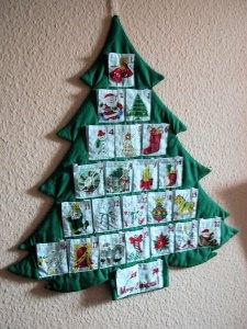 Weihnachtsbaum-Handarbeit,hat meine Mutter noch genäht in den 70er Jahren. - Handarbeit kaufen