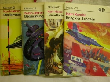 4 Utopische Romane von Meridian, - Handarbeit kaufen