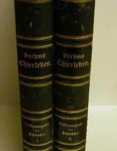 Brehms Thierleben 2 Bände 1886, - Handarbeit kaufen