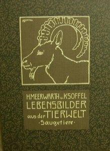 Lebensbilder aus der Tierwelt -Säugetiere- 1912, - Handarbeit kaufen
