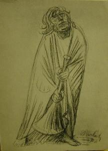 Sonnette um seine Werke - Ernst Barlach  - Handarbeit kaufen