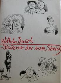 Wilhelm Busch - diese war der erste Streich - Eulenspiegel Verlag   - Handarbeit kaufen