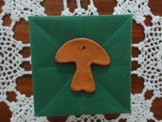 Keramik, Pilze, 10er-Set - Handarbeit kaufen