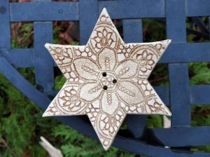 Seifenschale Stern, Steinzeug - Handarbeit kaufen