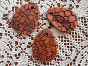 Keramikeier, 3er-Set,, braun