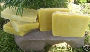 1 Block Haarseife Citrone Shampooseife 1 kg - 100 g/3,50 €
