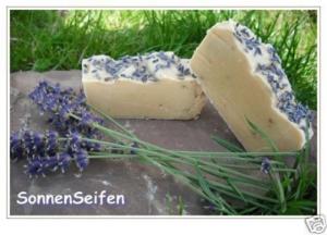1 kg Ziegenmilch-Seife Lavendel-Minze Naturseife 100 g/4,00 €