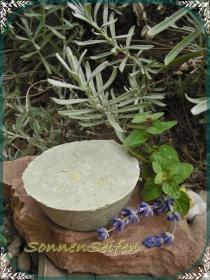 Festes Shampoo LavendelMelisse Ohne Dose ~ VEGAN Shampoobar
