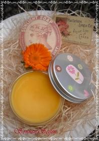 •✿• Vegane Ringelblumensalbe handgemacht Calendula ohne Duft ohne Farbstoffe