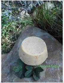 Festes Shampoo Hibiskus ohne Glycerin ~ Vegan Solid Shampoo Shampoobar