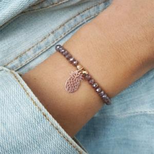 Armband mit Ananas Roségold