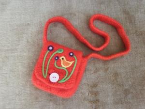 Kindertasche mit Blumenmotiv - Handarbeit kaufen