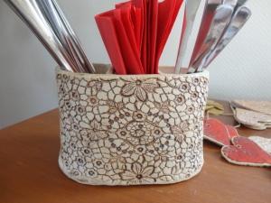 Besteckkasten, Besteckkorb, Vase - Handarbeit kaufen