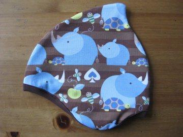 Bio Mütze Nashorn, Herbst, Kinder & Baby, RhinoBoy, Schildkröte