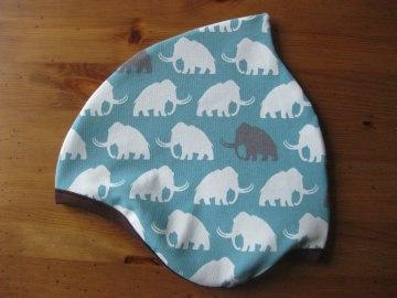Bio Mütze Mammut blau, Herbst, Kinder & Baby, Mammoth, petrol