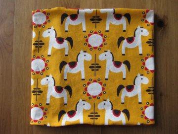 Bio Halssocke Pferde gelb, Herbst, Loop, Kinder & Baby, Pony, Horses