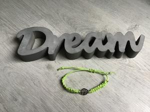 Macrame ♥ Armband ♥ Geschenk ♥ Muttertag ♥ Geburt ♥ Prüfung ♥ Unikat - Lebensbaum mint  - Handarbeit kaufen