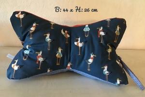 Leseknochen ♥  Nackenkissen ♥  Lagerungskissen  ♥  mit Griff - Unikate  Enten lustig - Handarbeit kaufen