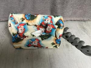 Deko-Sofa ,Kosmetikbox Sofa ,Taschentücherbox Sofa -   Weihnachten bunt - Handarbeit kaufen