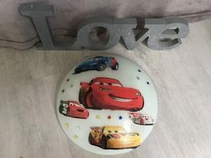 Kinderlampe Wandlampe Deckenlampe Lampe Baby - Autos Cars 2 - Handarbeit kaufen