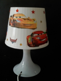 Nachttischlampe Kinderlampe  Lampe Baby - Autos Cars  - Handarbeit kaufen
