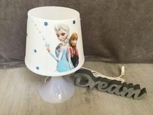 Nachttischlampe Kinderlampe  Lampe Baby - Anna und Elsa 1 - Handarbeit kaufen