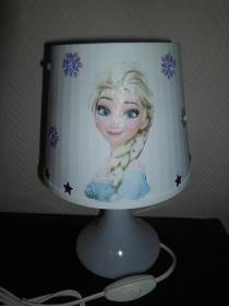 Nachttischlampe Kinderlampe  Lampe Baby - Anna und Elsa 2 - Handarbeit kaufen