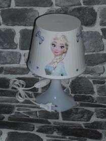 Nachttischlampe Kinderlampe  Lampe Baby - Anna und Elsa  Schmetterlinge - Handarbeit kaufen