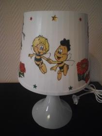 Nachttischlampe Kinderlampe  Lampe Baby - Biene Maja - Handarbeit kaufen