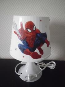 Nachttischlampe Kinderlampe  Lampe Baby -  Spiderman - Handarbeit kaufen