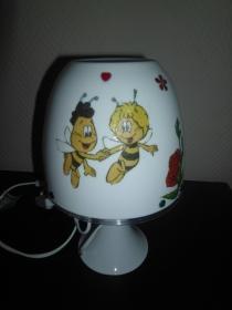 Nachttischlampe Kinderlampe  Lampe Baby klein -  Biene Maja - Handarbeit kaufen
