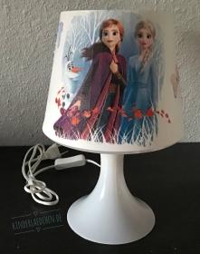 Nachttischlampe Kinderlampe  Lampe Baby - Anna und Elsa 3
