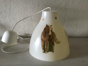 Kinderlampe Deckenlampe Hängelampe Lampe - Pferd - i love my Pony - Handarbeit kaufen