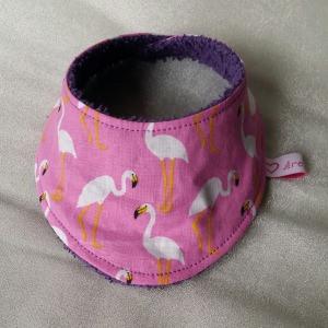 Halstuch für Babys und Kleinkinder - Flamingo