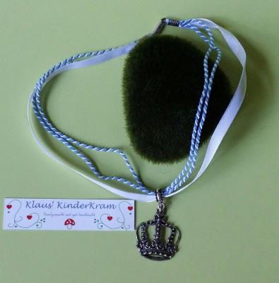 Zünftige Halskette mit Krone