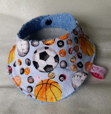 Halstuch für Babys und Kleinkinder - Bälle