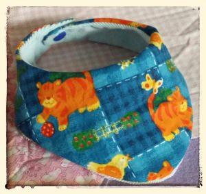 Halstuch für Babys und Kleinkinder - Katzen