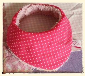 Halstuch für Babys und Kleinkinder - Pünktchen