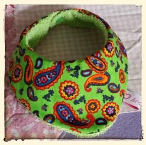 Halstuch für Babys und Kleinkinder - Paisleys