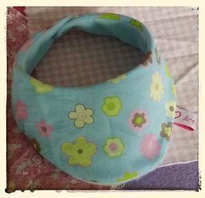 Halstuch für Babys und Kleinkinder - Blümchen