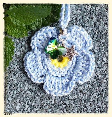 Taschenanhänger - Schmetterling