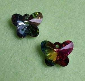 2 Kristallschmetterlinge