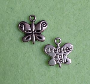 10 Schmetterlingsanhänger - Created for you