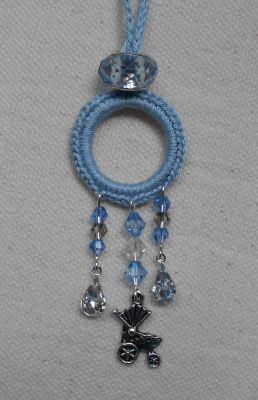 Mamischmuck - Halskette mit Kinderwagen