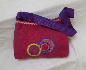 Bestickte Handtasche - Ornamente