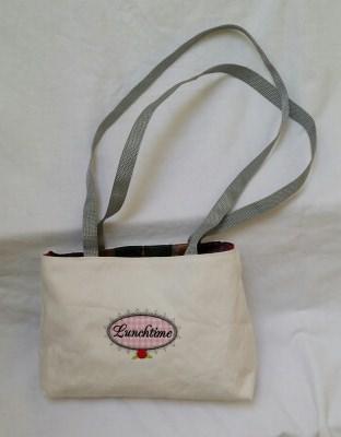 Bestickte Handtasche - Business